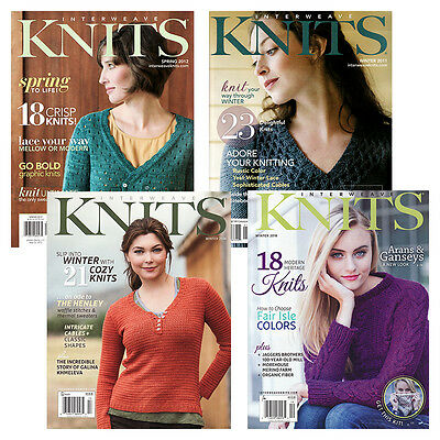 Interweave Knits Magazine - Complete Year Collections