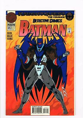 Detective Comics # 675 Midnight Duel ! Batman grade - 9.0 scarce book !!