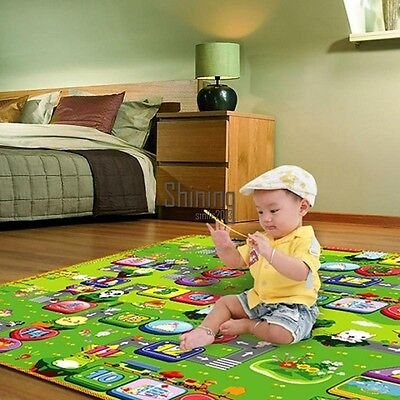 New Thicken Baby Letter Crawling Mat Climb Blanket Creeping Puzzle Pad SHNS