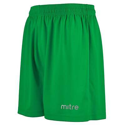 Football Shorts MITRE METRIC SHORT - Emerald - YOUTH