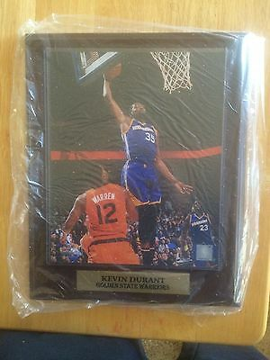 11x14 Sports Plaque Kevin Durant Golden State Warriors