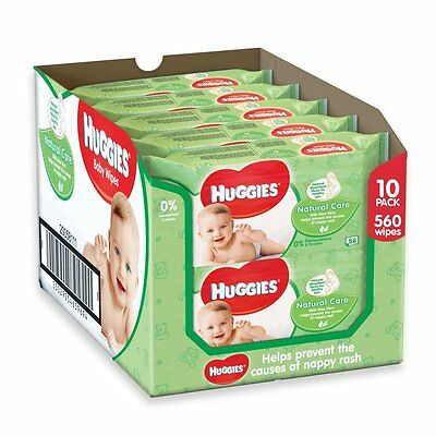 Huggies Natural Care Baby Wipes 20 Packs (1120 Wipes Total) ***FREE DELIVERY****