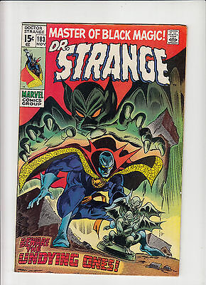Doctor Strange #183 f/vf final issue