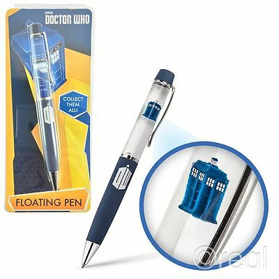 New Doctor Who TARDIS Floating Ballpoint Pen Official Licensed