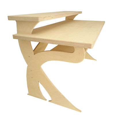 Birch Ply Producer, Composer Desk for full 88 key Electric piano keyboard (K1-D)