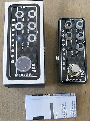 New Mooer 001 Gas Station Micro Preamp Pedal