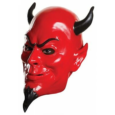 Red Devil Mask Costume Accessory Adult Scream Queens Halloween