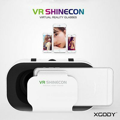 VR SHINECON VR BOX 2017 3D Glasses Movies Games Virtual Reality For Smart Phone