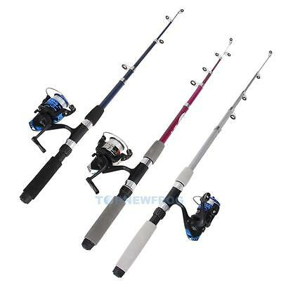 Combo Telescopic Mini Pocket Fish Pen Portable Fishing Rod Pole + Reel Exquisite