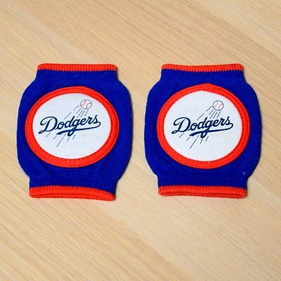Los Angeles Dodgers Baby Infant Knee Pad Crawlers (FREE SHIPPING) 6-18 months