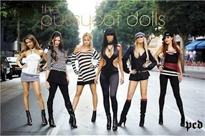 PUSSYCAT DOLLS ~ GROUP IN STREET ~ 24x36 MUSIC POSTER ~ NEW/ROLLED!