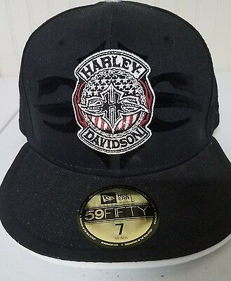 #164 NEW Harley-Davidson New Era fitted cap, size 7