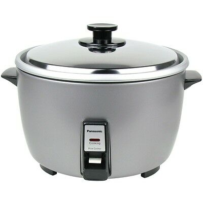 Panasonic 23-Cup Commercial Automatic Electric Rice Cooker, SR42HZP, Silver 120v
