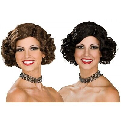 Flapper Wig Costume Accessory Adult Halloween