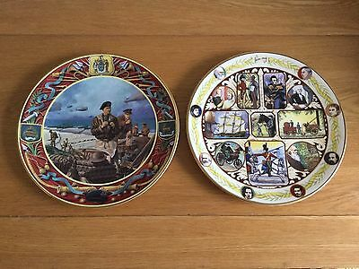 "Pair Of Royal Doulton 10 1/2"" Collectors' Gallery Edition Plates - 1994"
