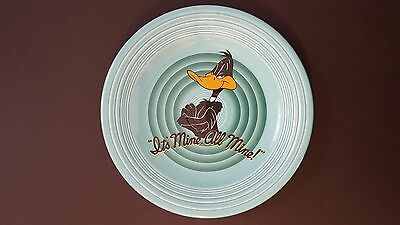 Fiesta Looney Tunes Daffy Duck Turquoise Plate 1994