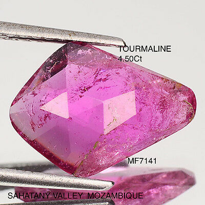 RUBELLITE TOURMALINE NATURAL MINED UNTREATED 4.50Ct  MF7141