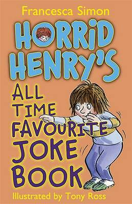 Horrid Henry's All Time Favourite Joke Book,New Condition