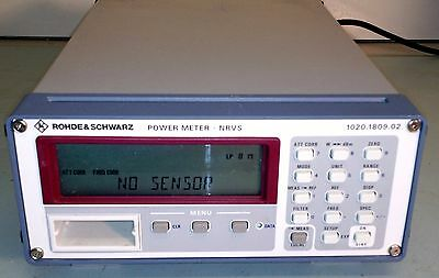 Rohde & Schwarz NRVS Power Meter ~ FULLY TESTED, 90 DAY WARRANTY w/FREE SHIPPING