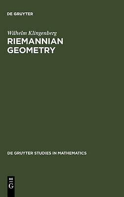 Riemannian Geometry (De Gruyter Studies in Mathematics),Good Condition