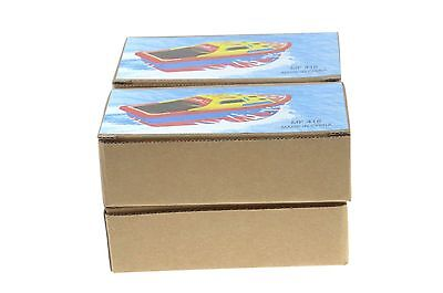 4x TIN TOY POP POP PUTT PUTT CANDLE POWERED BOATS INCLUDES 2 CANDLES
