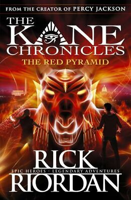 The Kane chronicles: The red pyramid by Rick Riordan (Paperback)