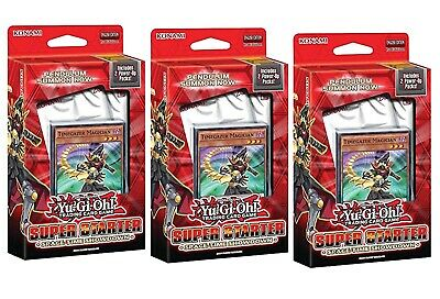 Yu-Gi-Oh! TCG: 2014 Super Starter: Space-Time Showdown lot of 3 Starter Boxes