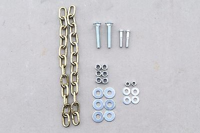 """1/2"""" Shooting Target Mounting Kit with 12"""" Heavy Duty G70 Chain"""