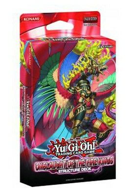 Yu-Gi-Oh Onslaught of the Fire Kings Structure Deck of 40 Cards