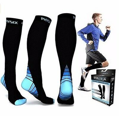 New Compression Socks for Men & Women BEST Graduated Athletic Fit for Running