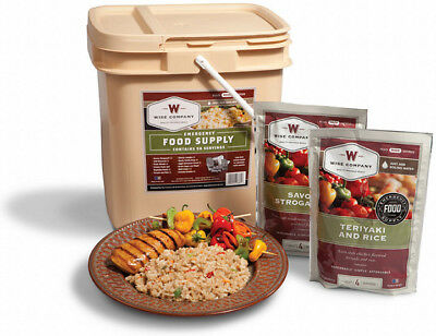 Wise Company 56-Serving Bucket Grab n' Go Food Kit
