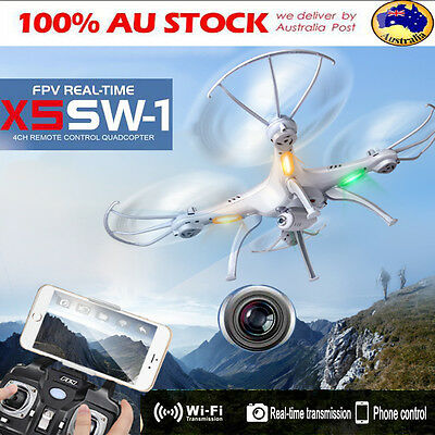 HOT X5SW-1 Wifi FPV 2MP HD Camera Drone 2.4Ghz 4CH RC RTF Quadcopter Helicopter
