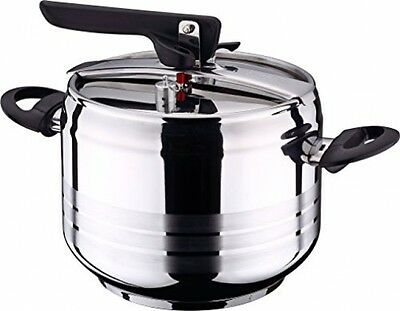 Swiss Home Zurich - Pressure cooker, large, 7 liter, stainless steel, induction