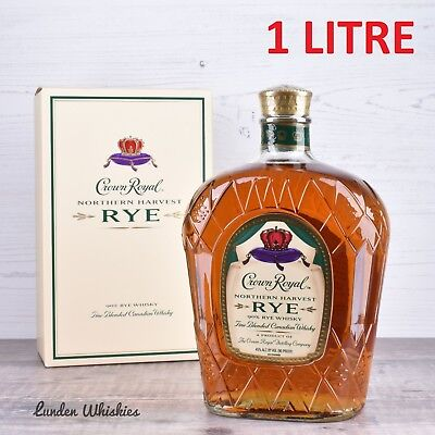 Crown Royal Northern Harvest Rye Whisky 'Best Whisky of the Year' 2016 1000ml!