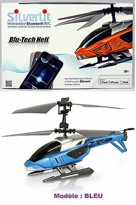 HELICOPTERE BLEU ou ORANGE- Silverlit Interactive Bluetooth R/C connect, control
