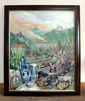 Framed Original Painting The Spirit of the Black Country by Keith Turley
