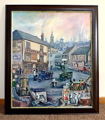 Framed Original Painting The Heart of the Black Country by Keith Turley