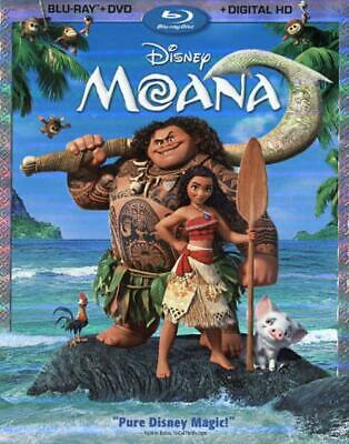 Moana New Blu-Ray/dvd