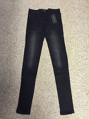 New Look Ladies Black Super Skinny Jeans Size 6 8 10 D1