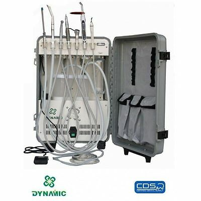 Portable Dental Unit Deluxe Complete Package Plus Portable Mobile Chair Stool