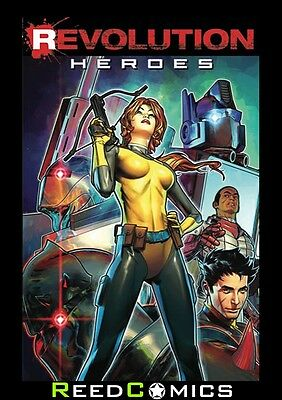 REVOLUTION HEROES GRAPHIC NOVEL New Paperback Collects The Revolution One Shots