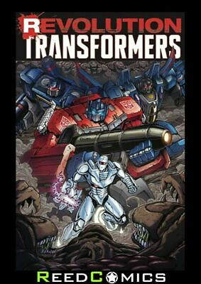 REVOLUTION TRANSFORMERS GRAPHIC NOVEL Paperback Collects Transformers One Shots