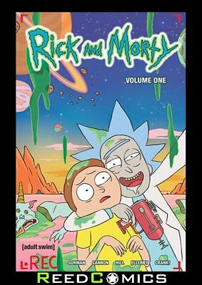 RICK AND MORTY VOLUME 1 GRAPHIC NOVEL Paperback Collects #1-5 Animated TV Show