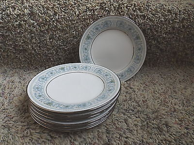 Vintage Noritake Ivory China Monteleone 7569 Bread & Butter Plates (7)