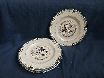 "Vintage Royal Doulton England Old Colony Bread & Butter Plates 6 3/4"" (Set of 5)"