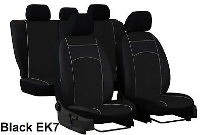 VW JETTA Mk6 2010 ONWARDS ECO LEATHER SEAT COVERS MADE TO MEASURE FOR CAR