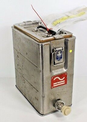 Vintage Original Air India Airplane Galley Hot Beverage Container ATS HJ-N1