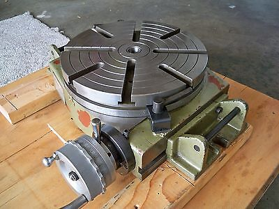12 in. ROTARY TABLE VERTICAL & HORIZONTAL EXCELLENT CONDITION