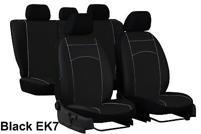 TOYOTA RAV4 Mk3 2006-2012 ECO LEATHER SEAT COVERS MADE TO MEASURE FOR CAR