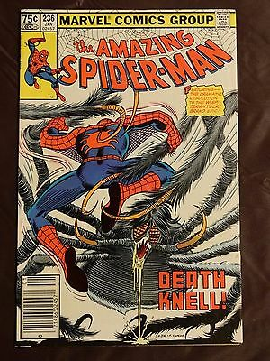 The Amazing Spider-Man #236 (Jan 1983) VF+  See Pics!! CANADIAN PRICE VARIANT